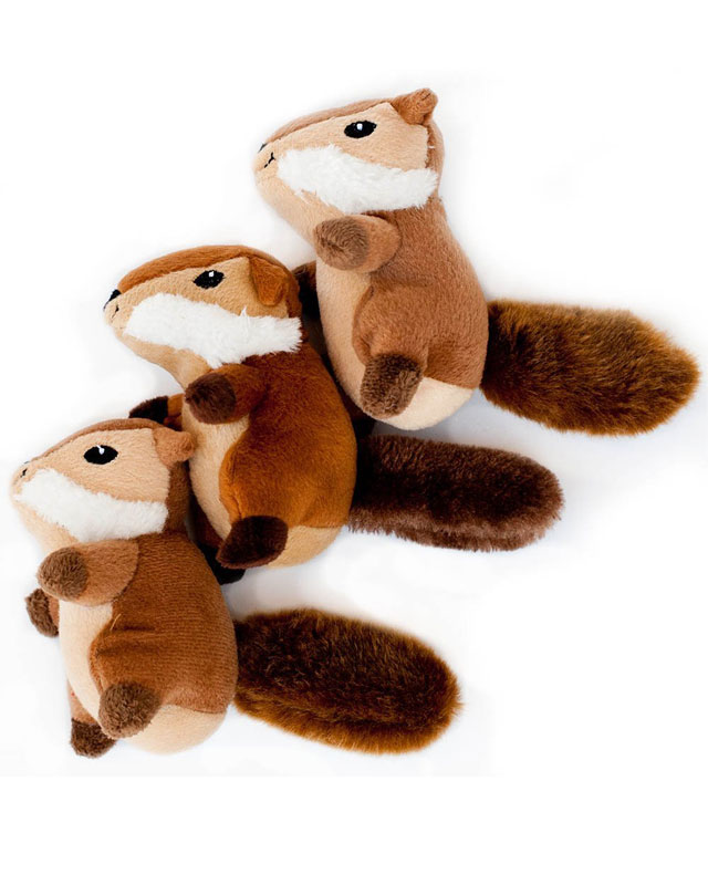 Squirrels Squeak n 3 Pack
